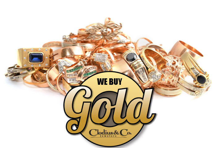 We buy it all, gold, silver, platinum, diamonds and precious gemstones.