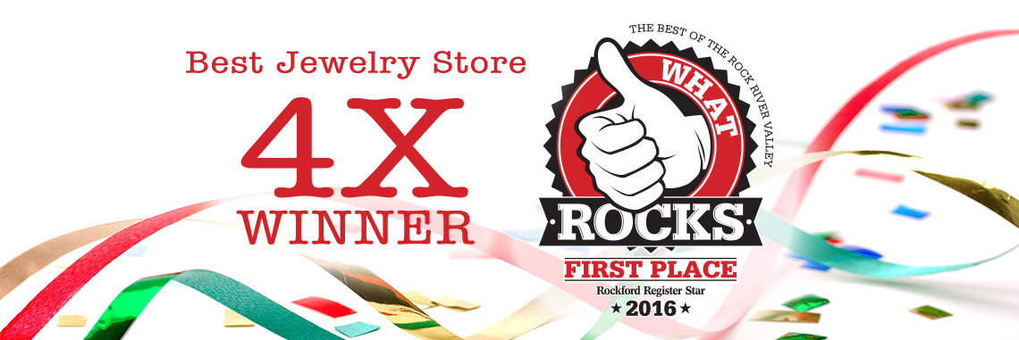 What Rocks: Best Jewelry Store 4x Winner